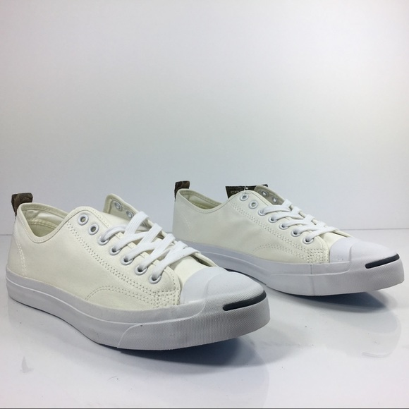 f7db88aa5432fb Converse Jack Purcell OX White Coated Canvas Camo